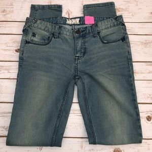 Free People Skinny Jeans Size 28 Blue